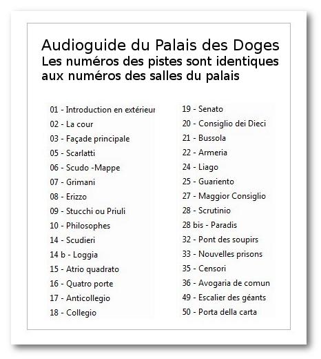 DES TÉLÉCHARGER DOGES PALAIS AUDIOGUIDE