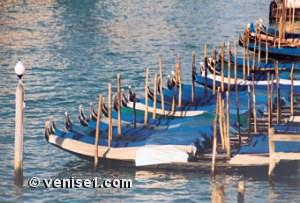 fabrication des gondoles à Venise