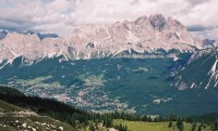 Cortina d'Ampezzo et les Dolomites