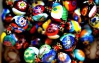 Perles de verre de Lisette Caputo à Murano