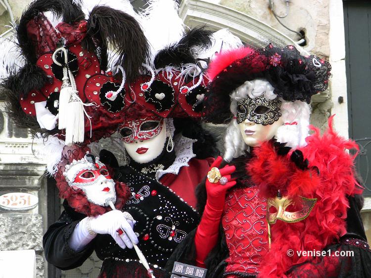 carnavals vénitiens