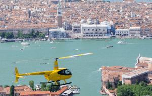 Voir Venise d'hélicoptère