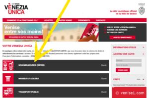 Meilleures offres Venezia Unica