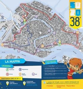 38e Su e zo per i ponti à Venise