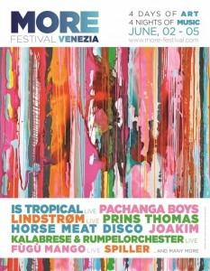 More Festival à Venise 2016