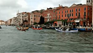 Fête du bocolo à Venise fête de Saint Marc