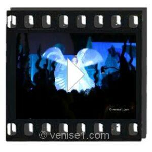 Vidéo du carnaval de Venise des drags-queens