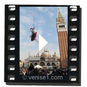 Vidéo ouverture du Carnaval de Venise