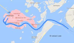 Navires de croisière à Venise