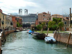 Navires de croisière à Venise après Covid