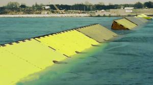Barrage Mose en lagune de Venise