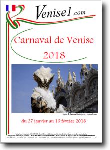 programme du carnaval de Venise 2018