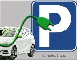 Bornes de recharge pour voitures électriques à Venise et Mestre