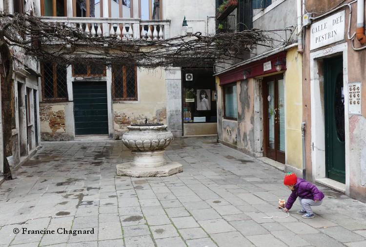 Visiter avec un enfant à Venise