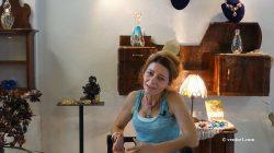 Muriel Balensi perles de verre de Murano