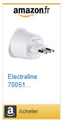 acheter adaptateur électrique pour Italie