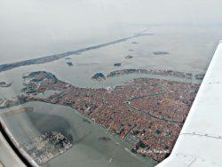 Photo aérienne de l'ouest de Venise