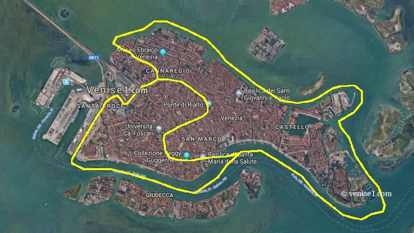 Questions-réponses vaporetto à Venise