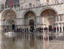 Acqua alta les 15 et 16 octobre 2020 à Venise