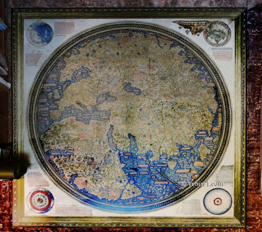 Vignes du couvent de San Michele et planisphère de Fra Mauro