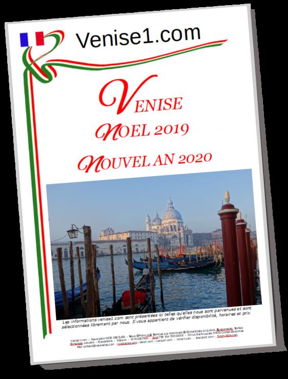 Noel et nouvel an à Venise