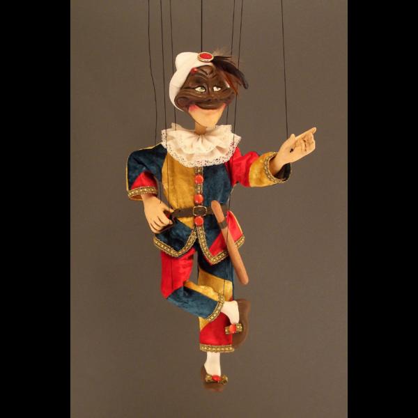 Marionnette Arlequin
