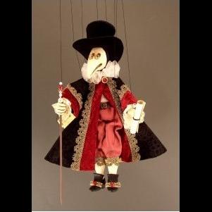 Marionnette médecin de la peste