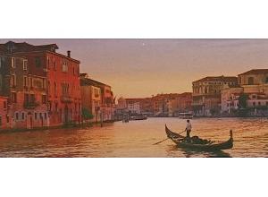 Marque-pages gondole sur le Grand Canal à Venise