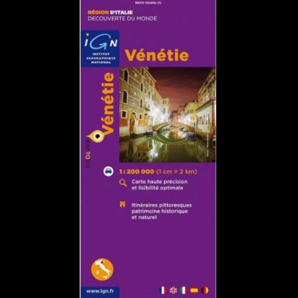 carte de Vénétie