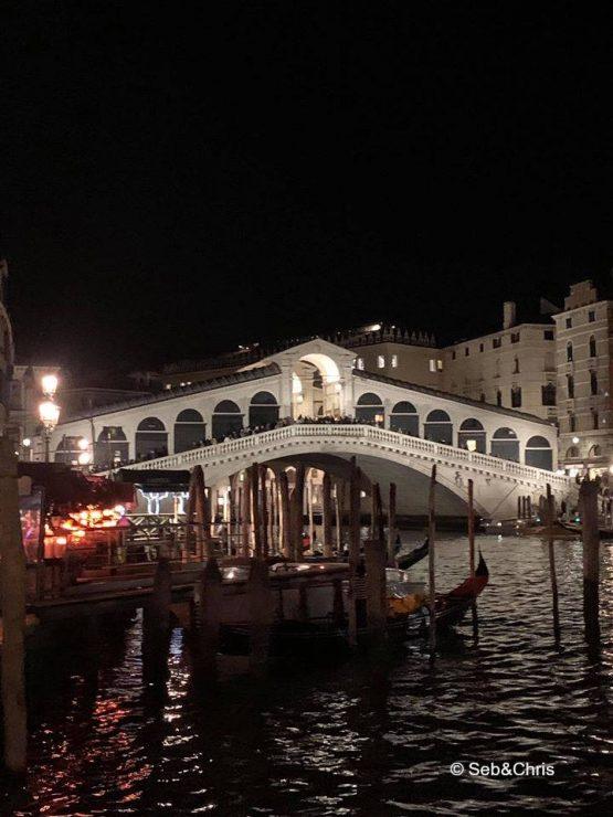 Venise nocturne Pont du Rialto