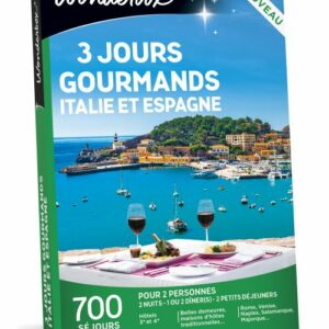 coffret gourmand en Italie Wonderbox