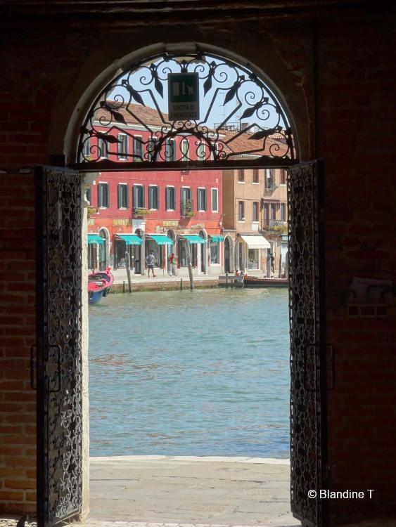 Photo de fer forgé à Murano