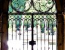 Photo de fer forgé du Palais Barbaro à Venise