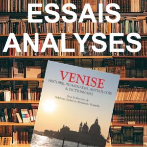 Essais sur Venise