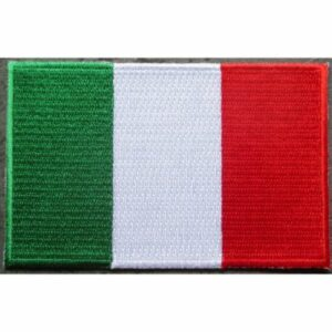 drapeau italien thermocollant pour vêtement