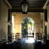 Jardin du palais Malipiero à Venise