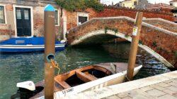 e-dock, recharges de barques éléctriques à Venise