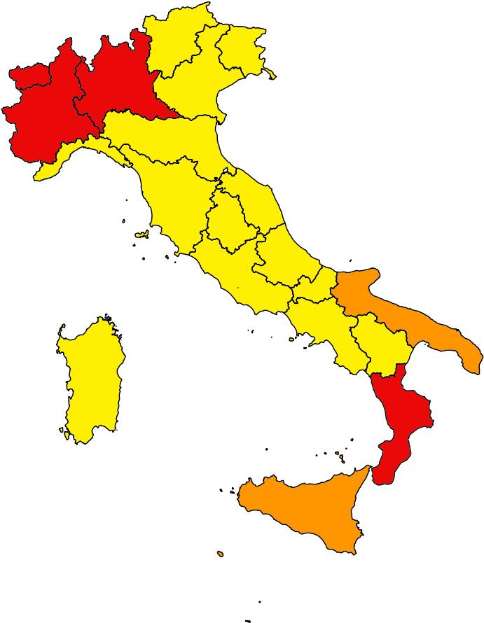 Restrictions du 5 novembre 2020 en Italie