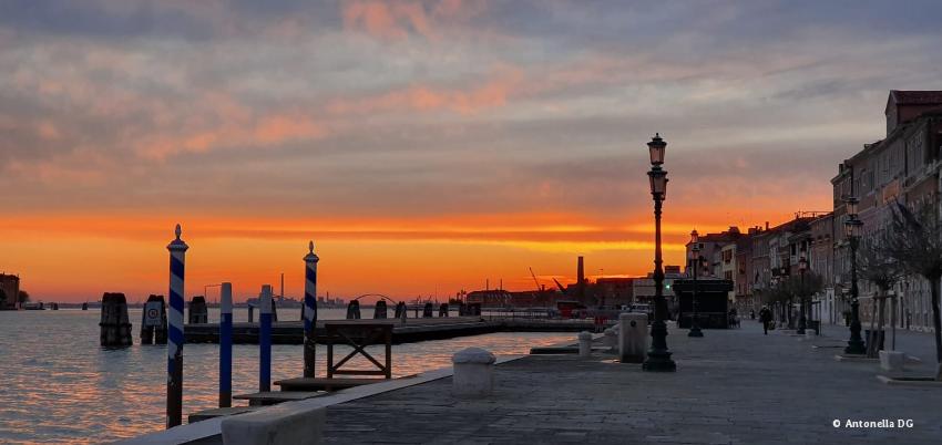 photos de Venise la nuit