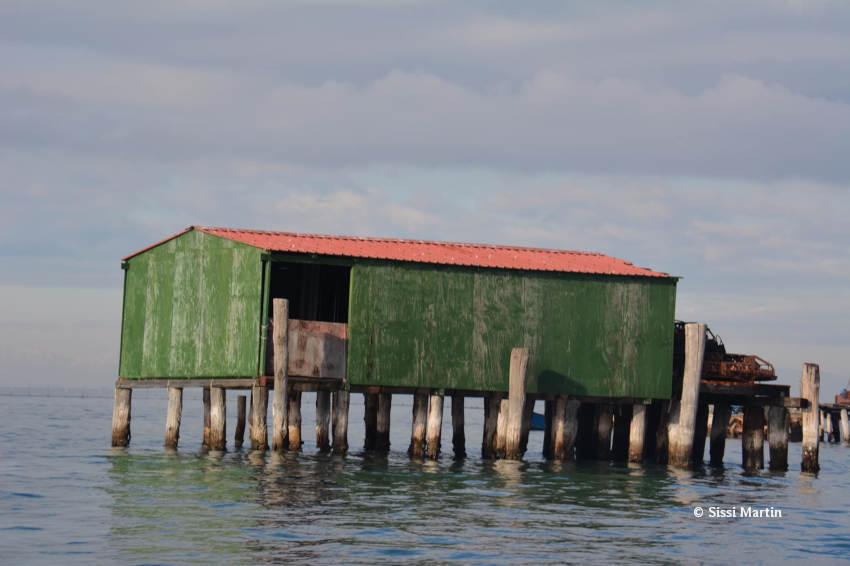 Trabucchi de la lagune vénitienne