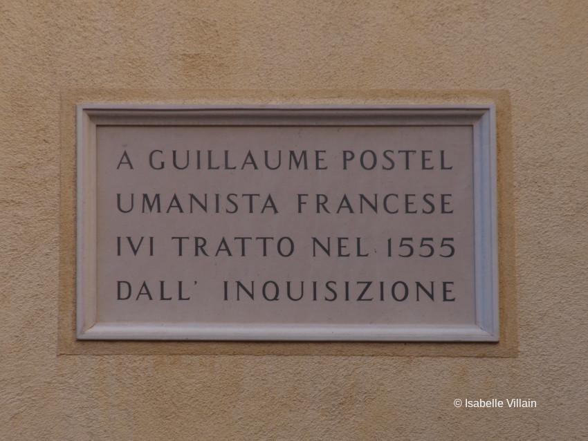 Guillaume Postel et Venise