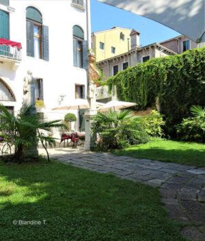 Jardins privés des palais de Venise