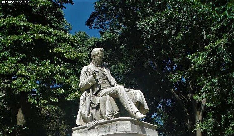 Statue de Pietro Paleocapa à Venise
