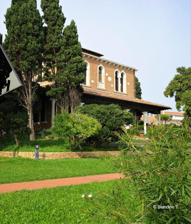 jardins de la Giudecca, la villa Hériot