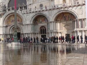 Travaux à la basilique Saint Marc de Venise